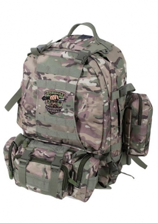 Большой трехдневный рюкзак с охотничьей нашивкой