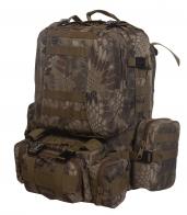 Большой туристический рюкзак камуфляжа Питон лес