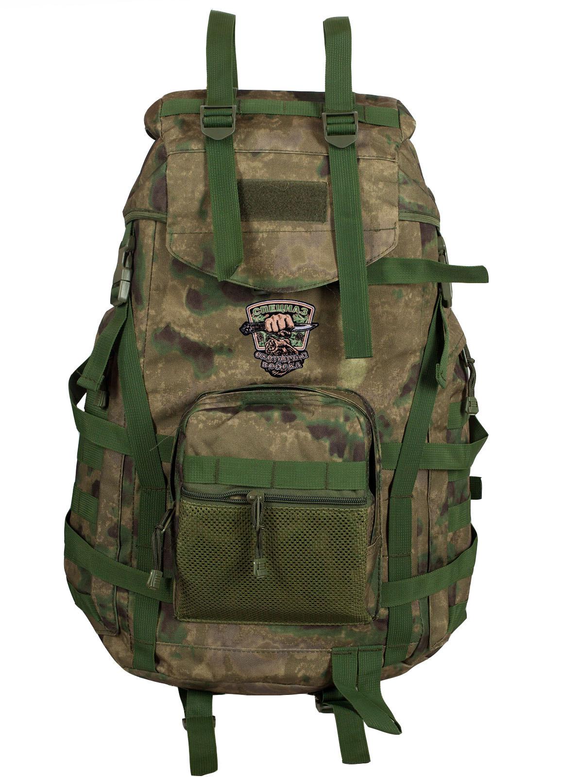 Большой туристический рюкзак с нашивкой для охотников