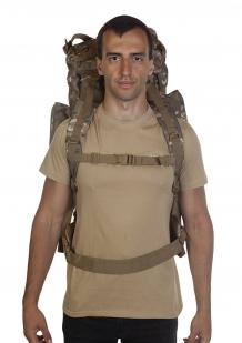Большой камуфляжный рюкзак Multicam с обвеской MOLLE  - с доставкой