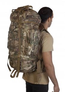 Большой камуфляжный рюкзак Multicam с обвеской MOLLE  - купить недорого