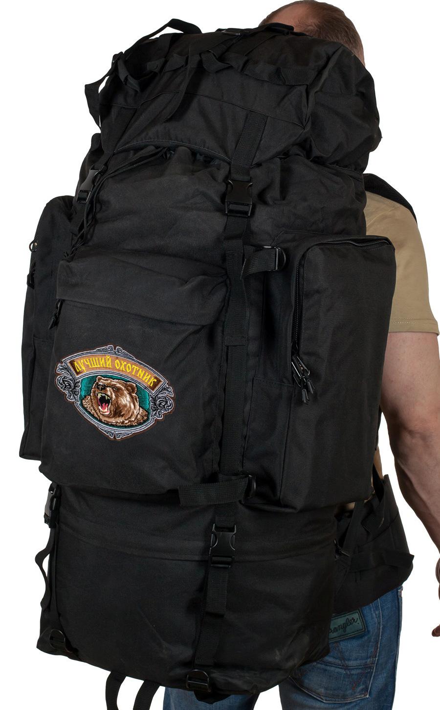 Большой вместительный рюкзак с нашивкой Лучший Охотник