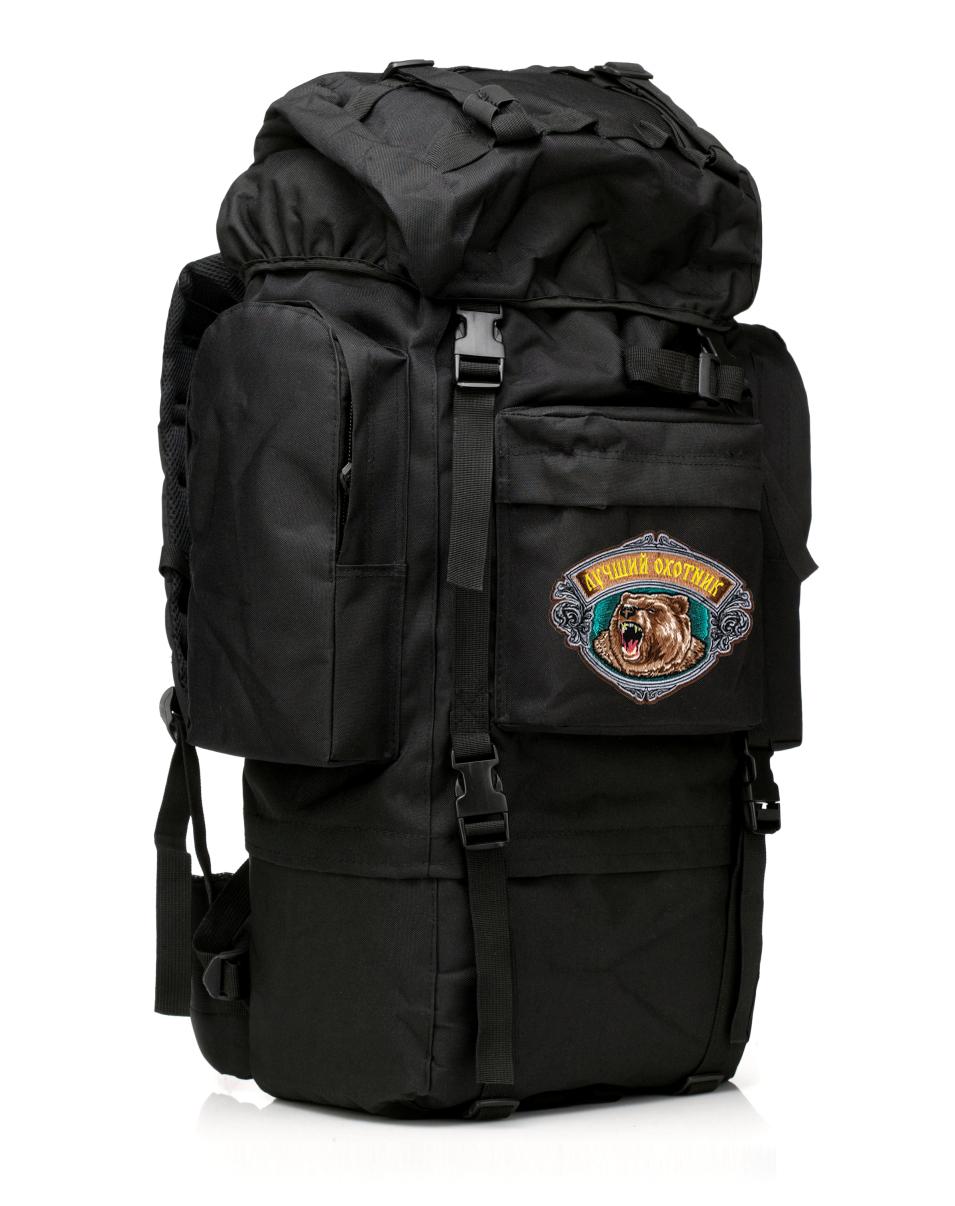 Большой вместительный рюкзак с нашивкой Лучший Охотник - заказать оптом