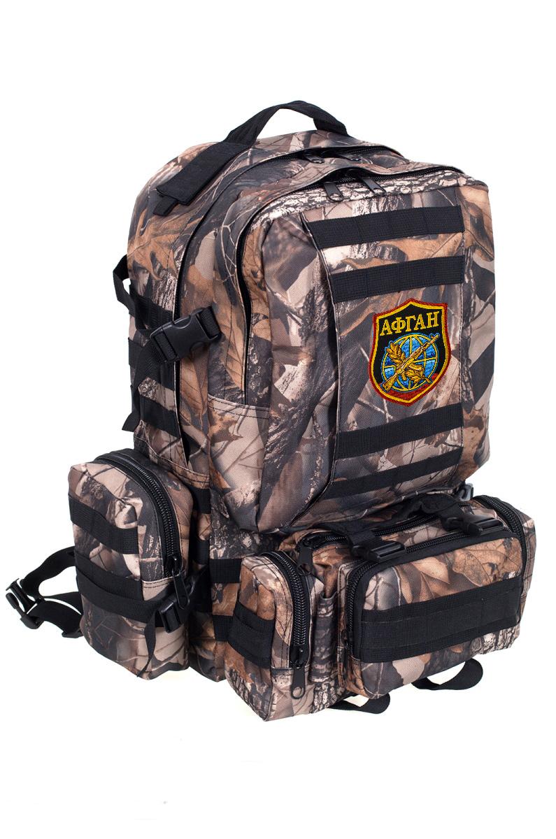 Большой военный рюкзак с нашивкой Афган - купить онлайн
