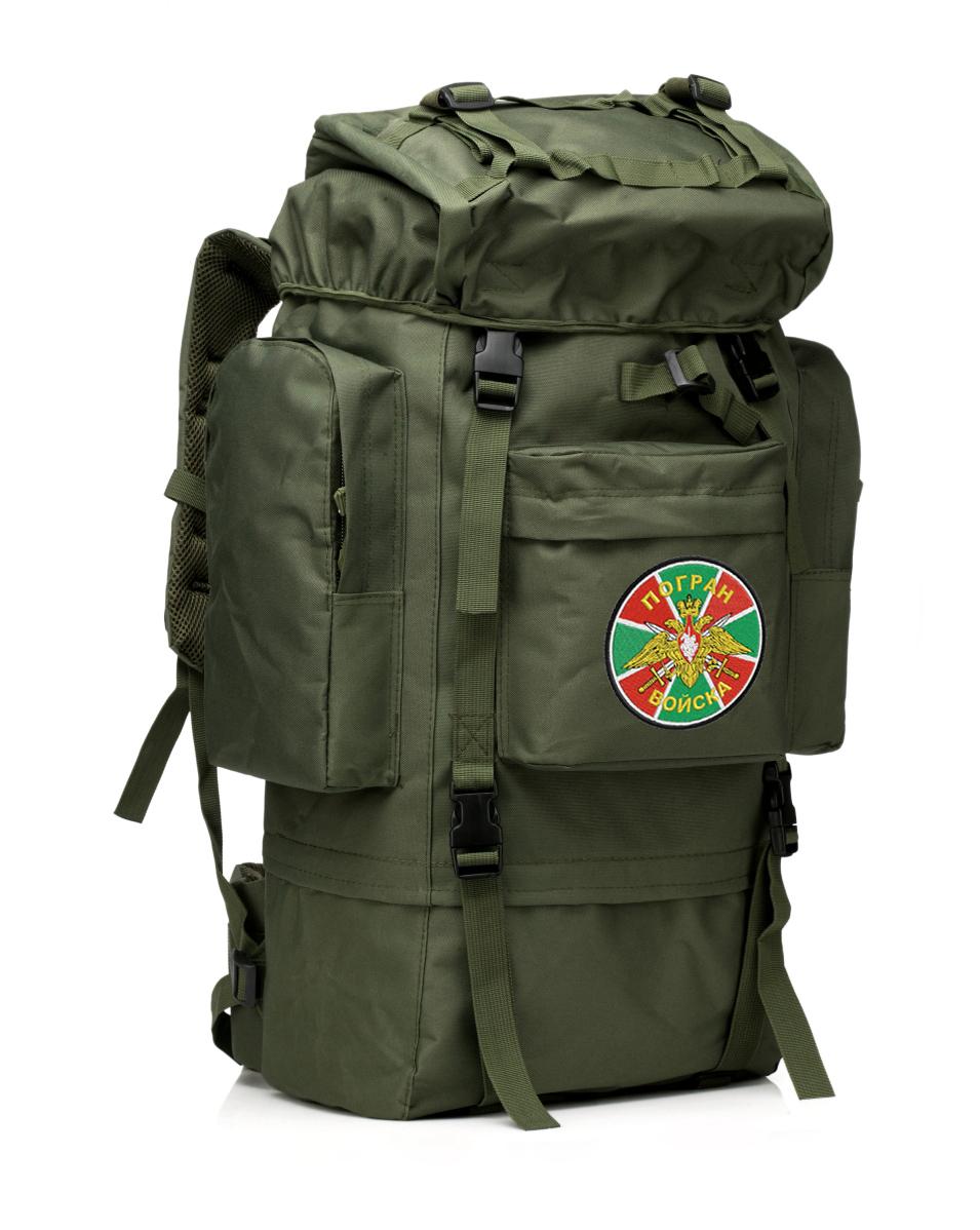 Большой военный рюкзак с нашивкой ПОГРАНВОЙСКА