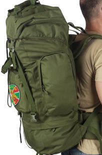 Большой военный рюкзак с нашивкой ПОГРАНВОЙСКА - заказать выгодно