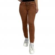 Бомбические женские джинсы скинни NONAME с «ржавым» принтом