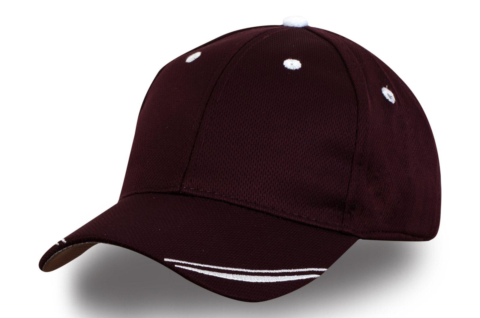Бордовая бейсболка - купить в интернет-магазине с доставкой