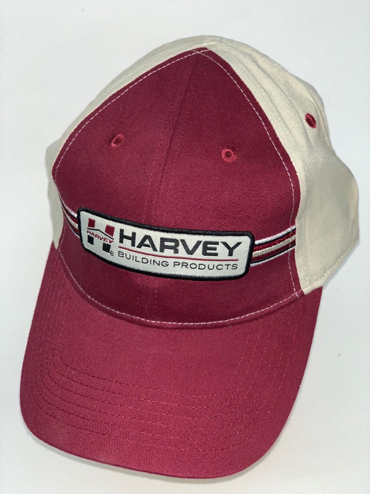 Бордовая бейсболка Harvey с бежевым тылом