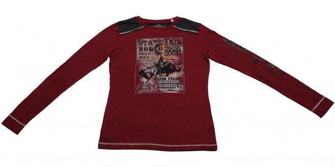 Бордовая кофточка Panhandle Slim - дизайнерская модель по привлекательной цене