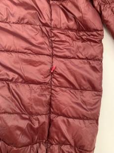 Бордовая мужская куртка