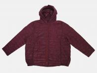 Бордовая осенняя женская куртка от Rosa Thea (Италия)