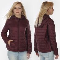 Бордовая женская куртка от Iwie (Италия).