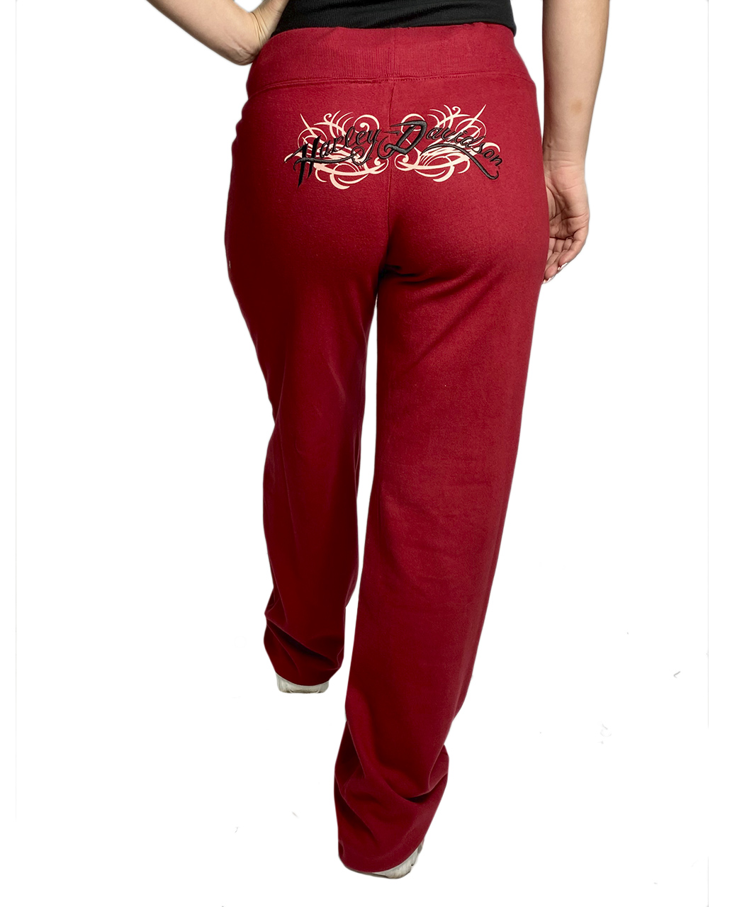 Бордовые женские штаны Harley-Davidson