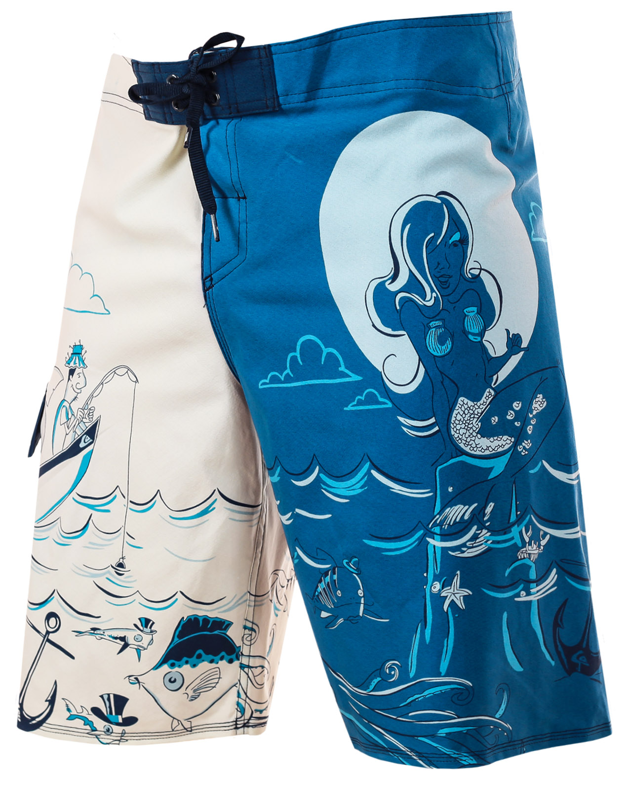 Мужские плавательные шорты до колен