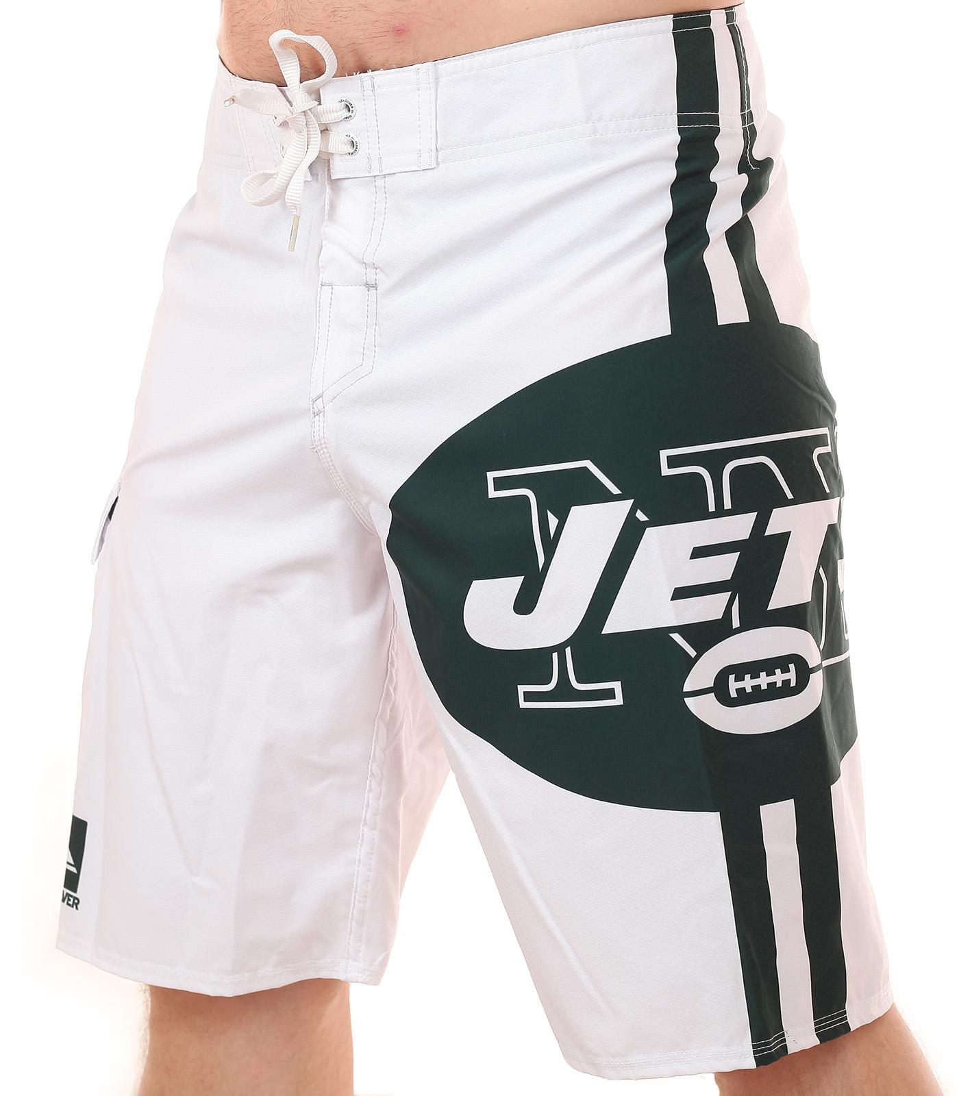 Бордшорты с логотипом профессионального клуба по американскому футболу New York Jets
