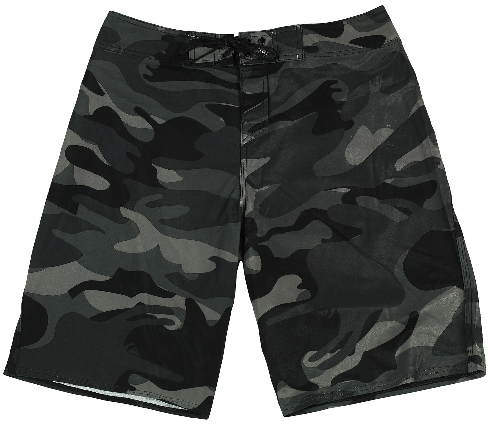 Камуфляжные мужские шорты для плавания