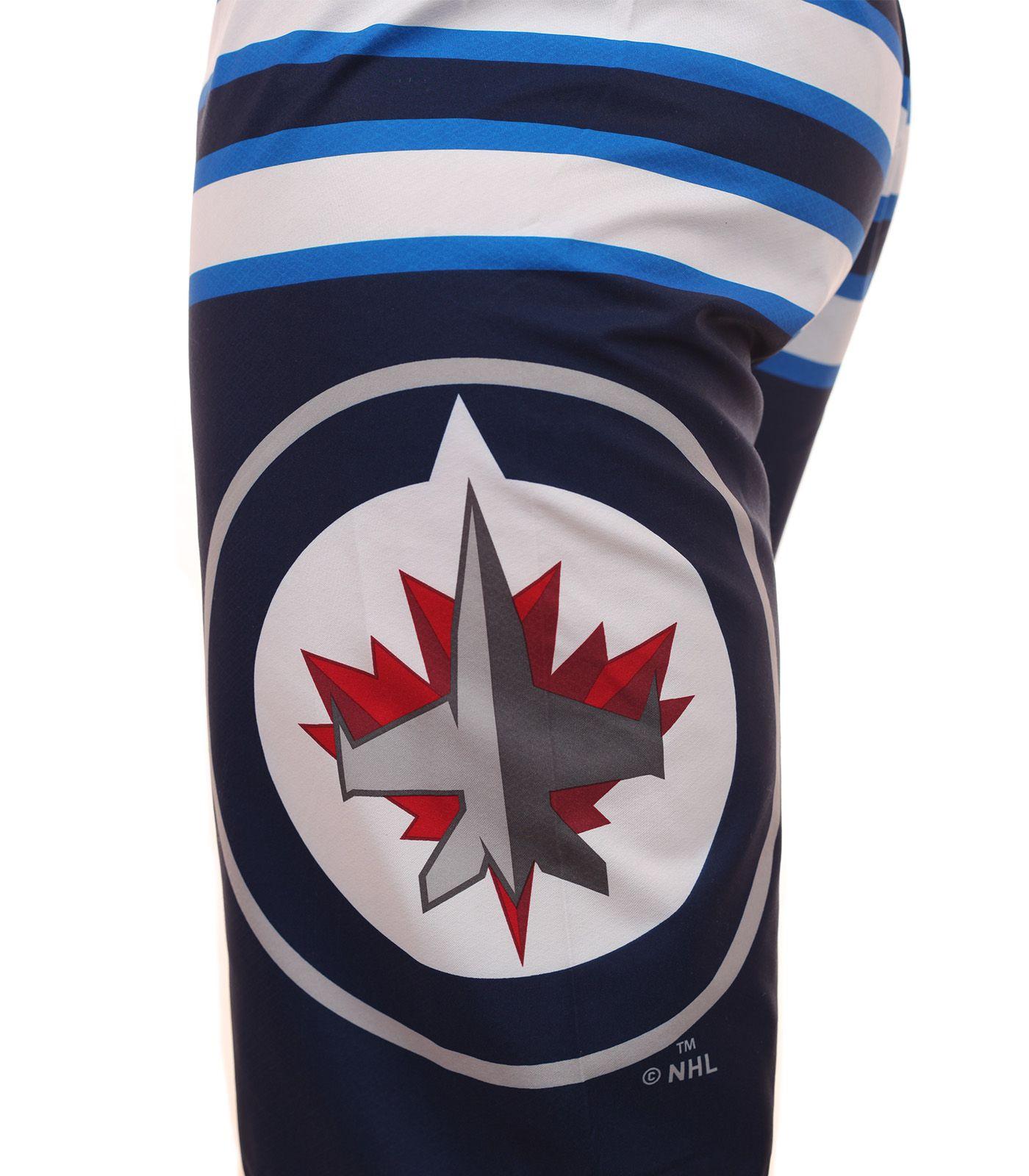 Бордшорты с логотипом хоккейного клуба НХЛ Winnipeg Jets - принт