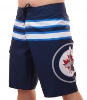 Бордшорты с логотипом хоккейного клуба НХЛ Winnipeg Jets