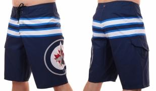 Бордшорты с логотипом хоккейного клуба НХЛ Winnipeg Jets - общий вид