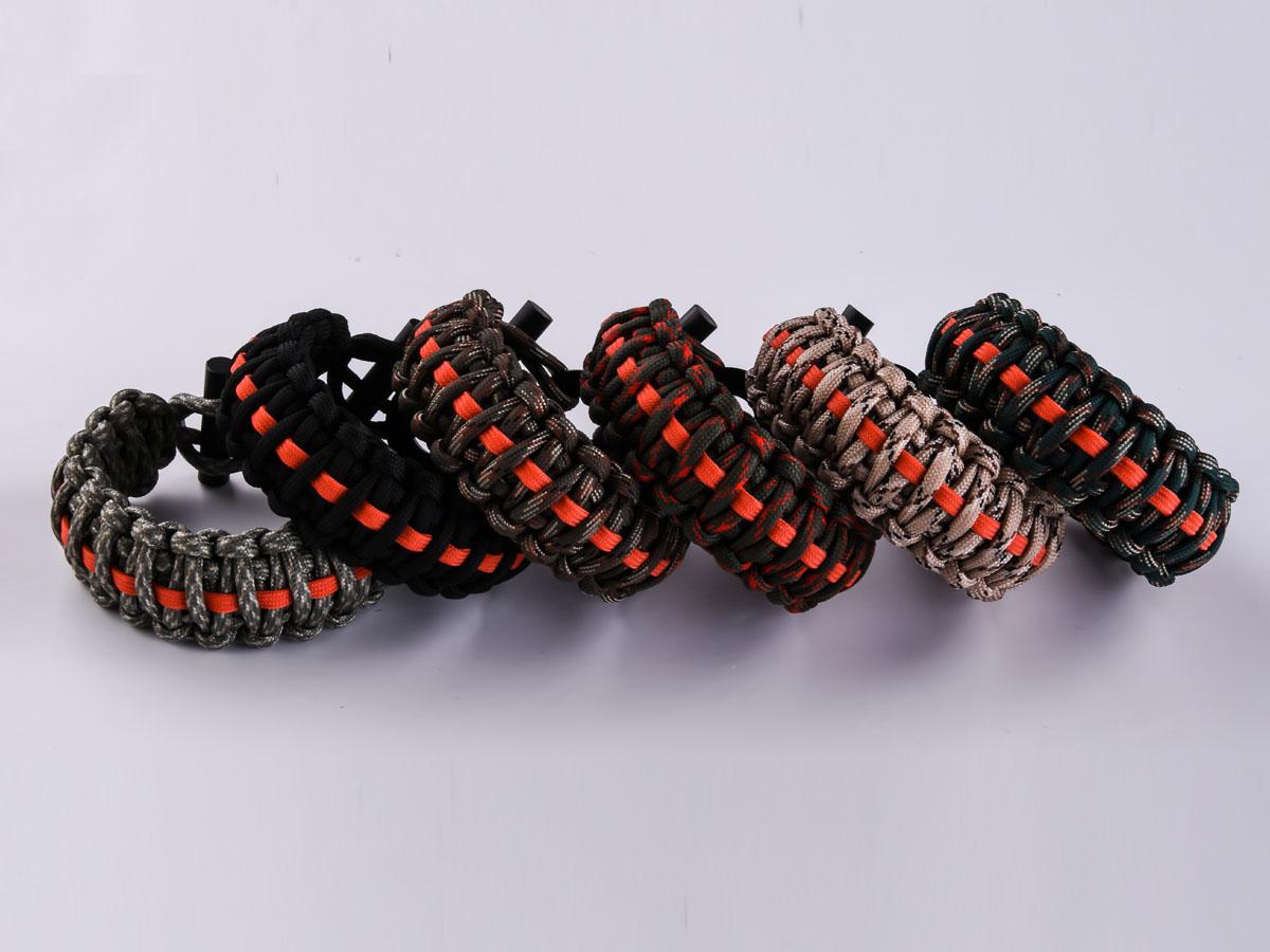 Заказать браслеты из паракорда плетение кобра