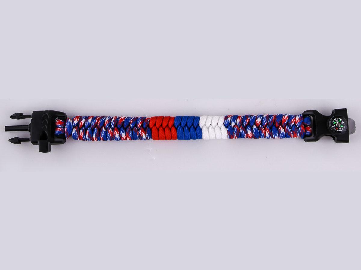 Купить браслет из паракорда с компасом