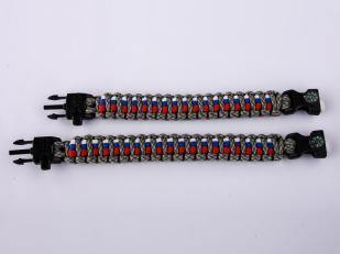 Браслет из шнурков - два размера