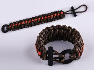 Оригинальный браслет плетёный