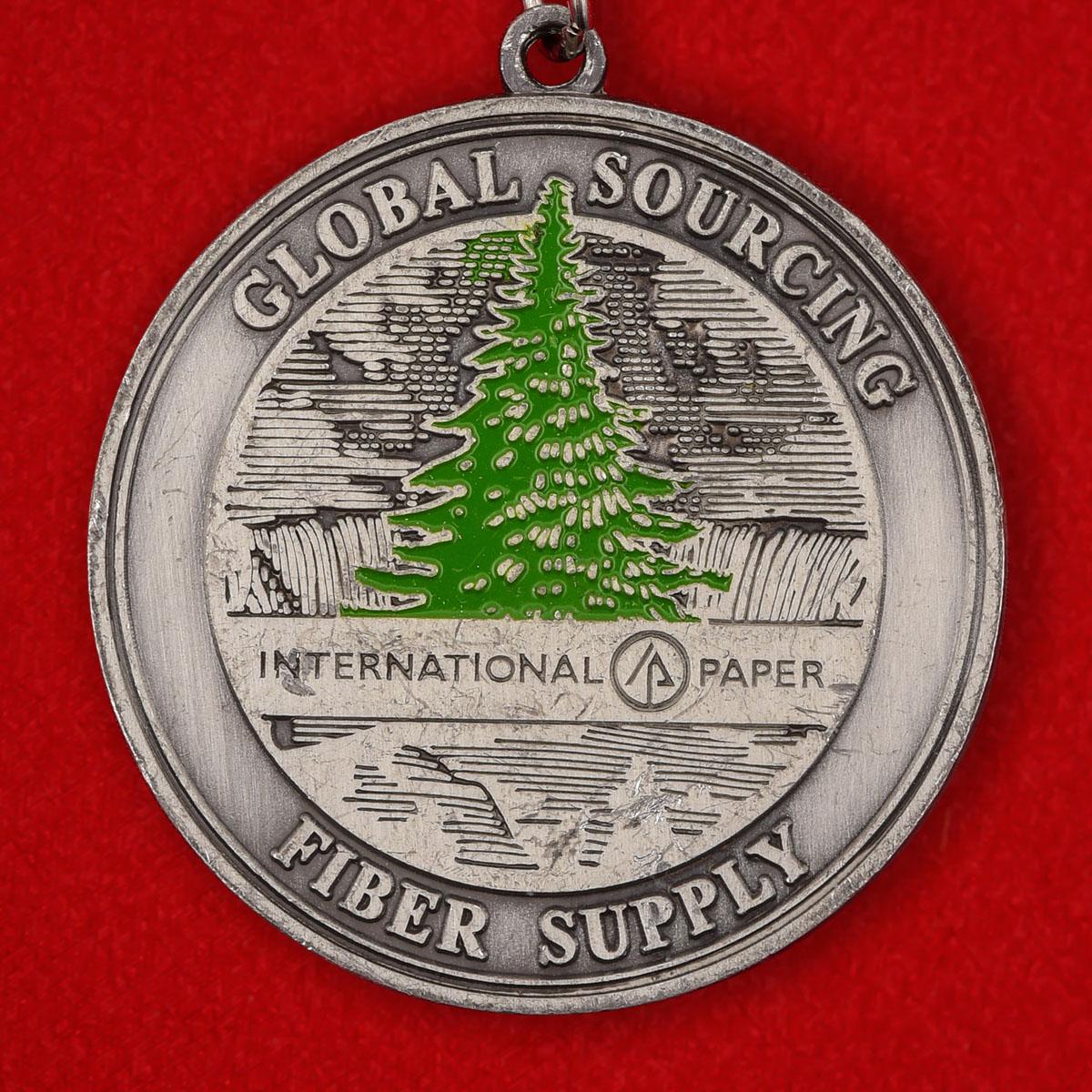 """Брелок """"Американская лесопромышленная компания International Paper"""""""