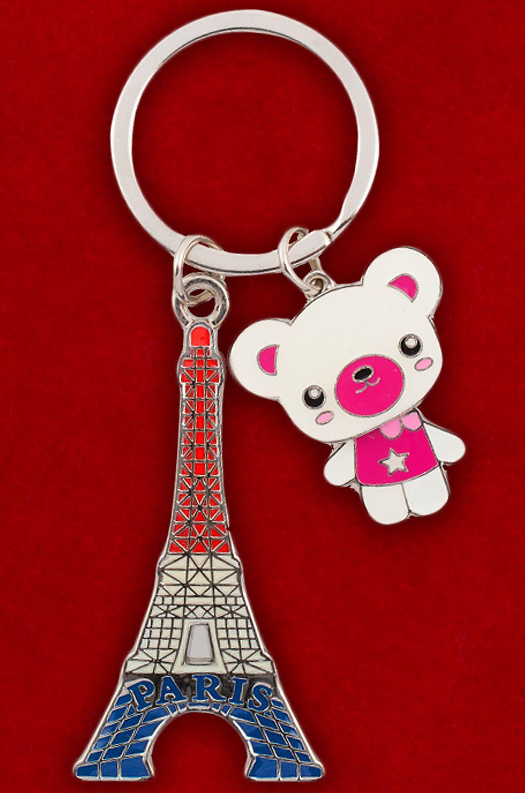 "Брелок для девушки ""Эйфелева башня"" | Недорогие брелоки для ключей"