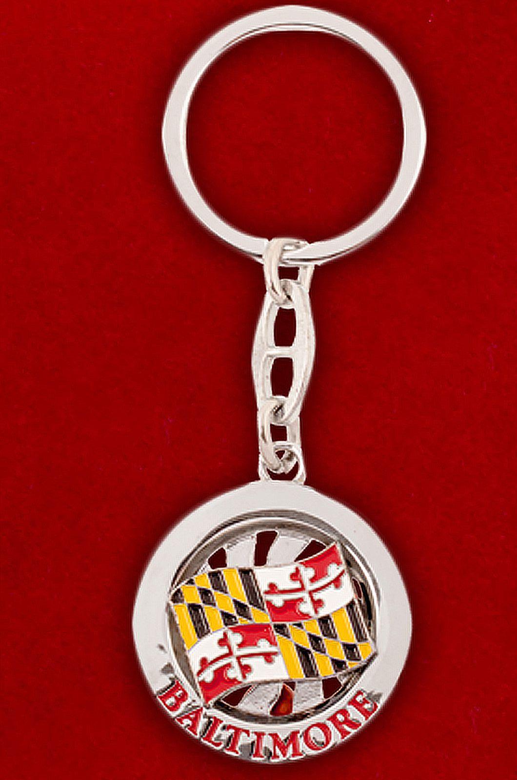 """Брелок для ключей """"Балтимор"""" - купить с доставкой"""