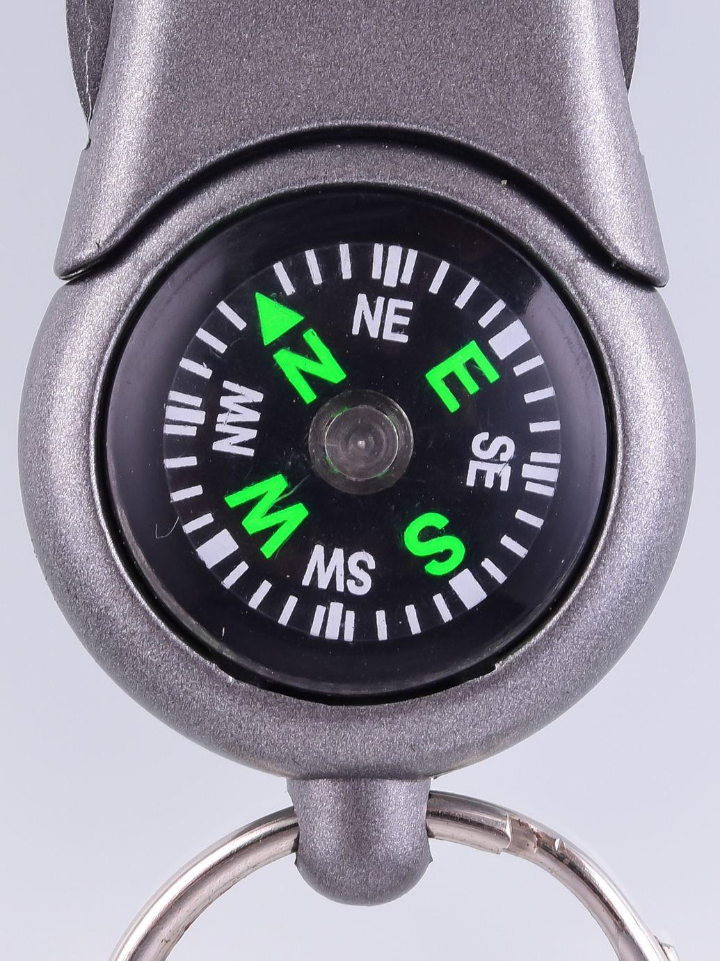 Брелок-компас с фонариком №23