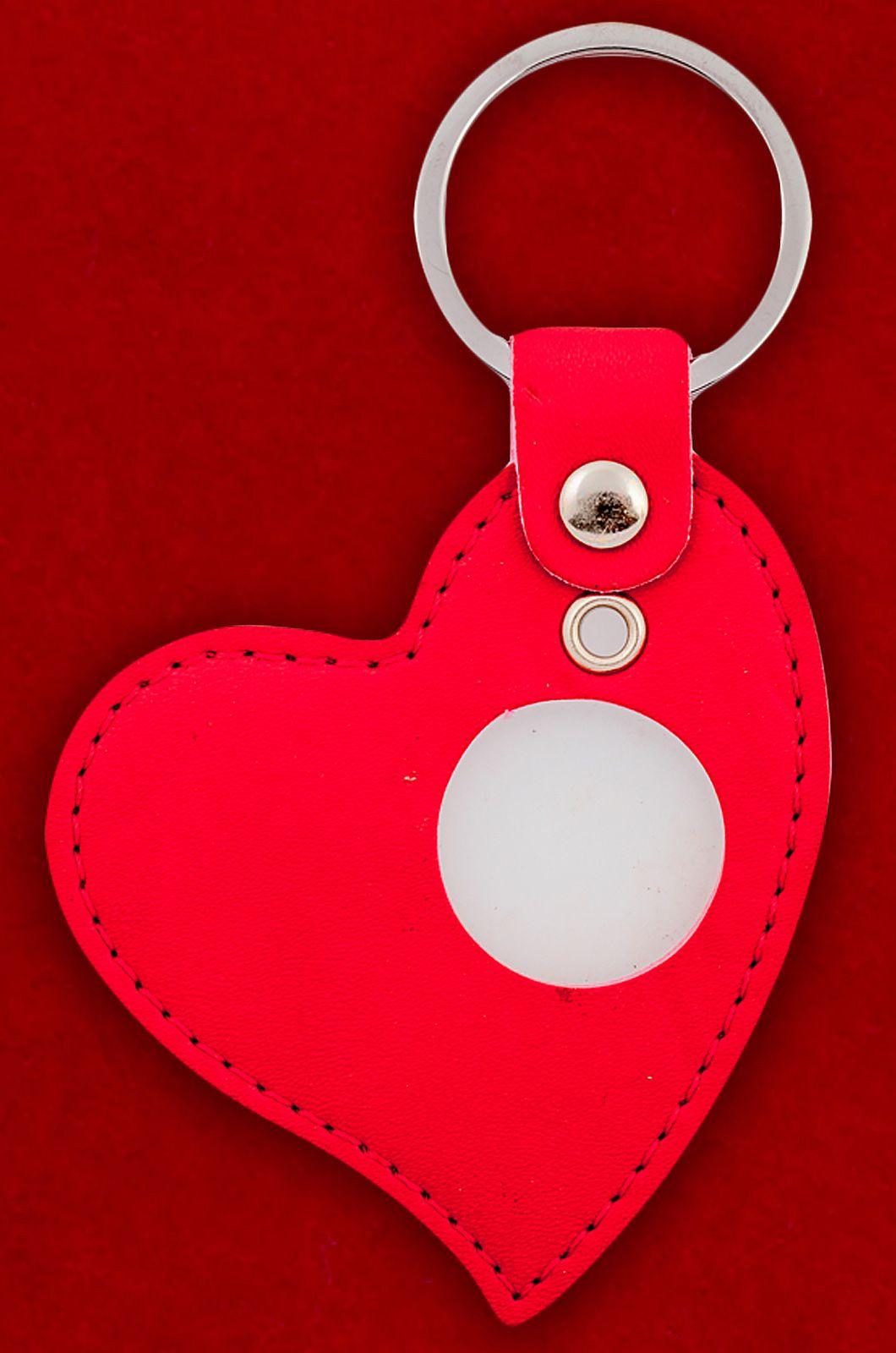 """Брелок кожаный """"Сердце"""" - купить онлайн по специальной цене"""