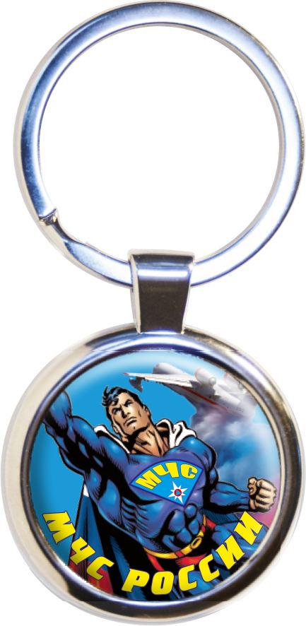 Брелок «МЧС Супермен»