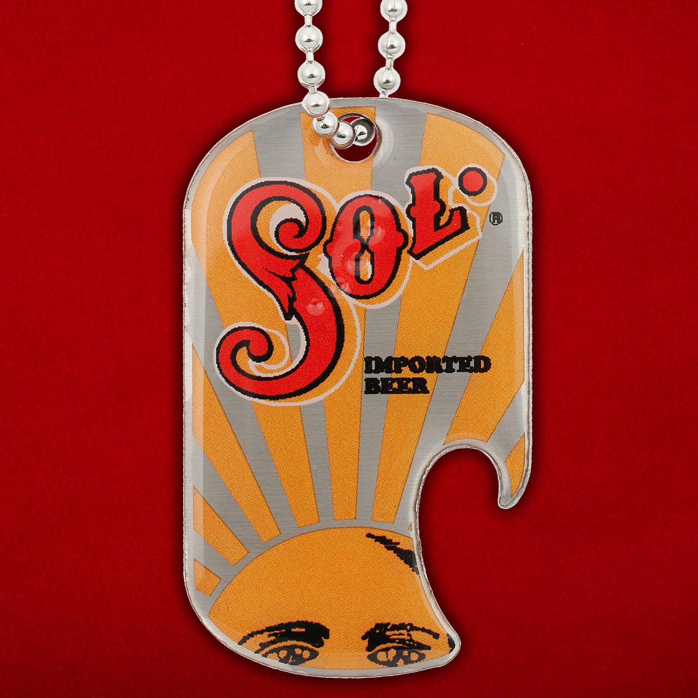 Брелок-открывалка SOL
