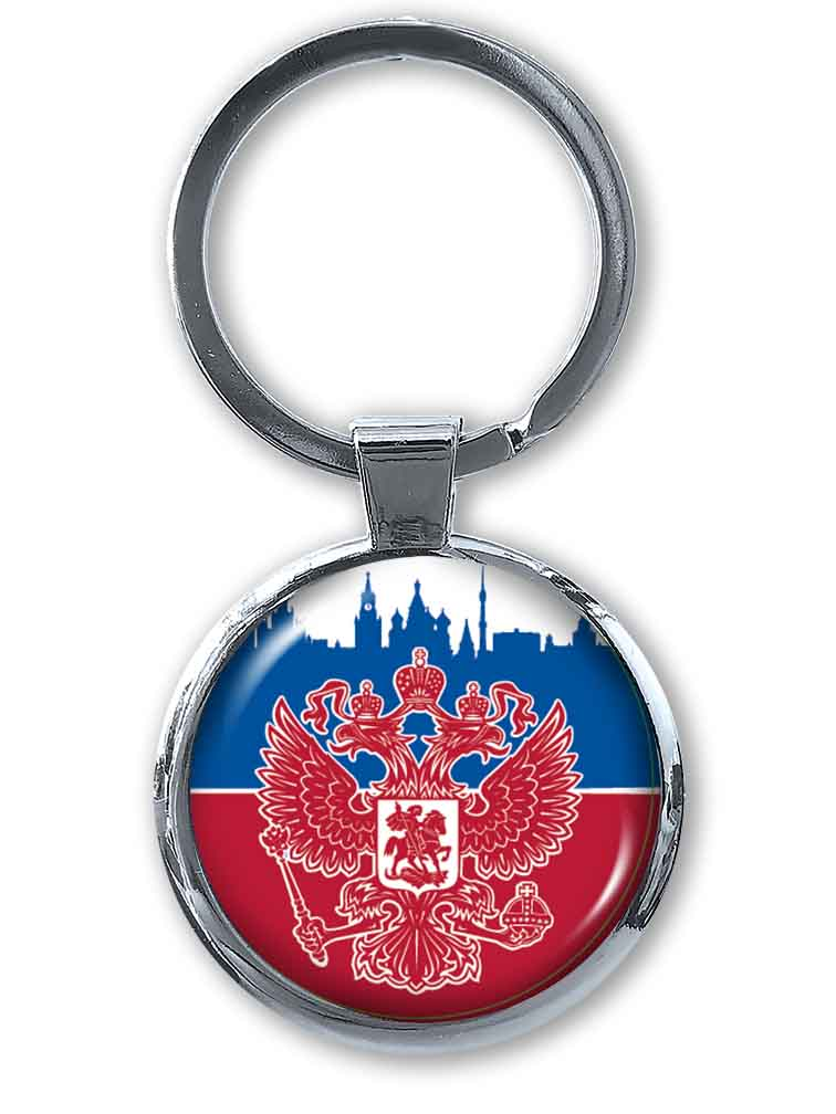 Брелок Россия - заказать в Военпро