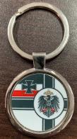 Брелок с военным флагом Германской Империи