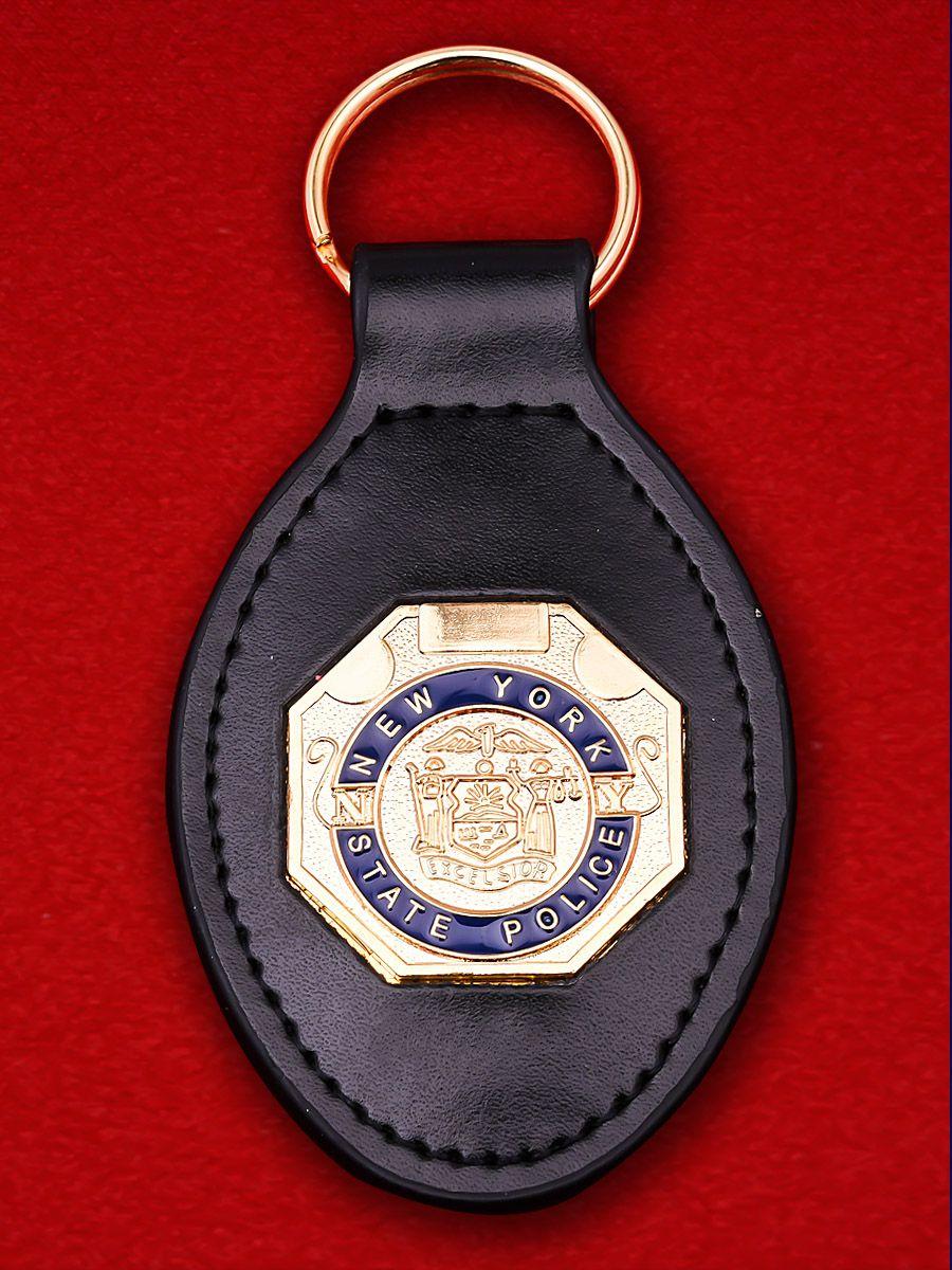 """Брелок с жетоном """"Управление полиции Нью-Йорка"""""""