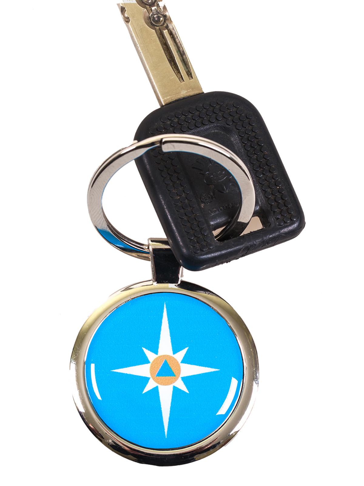 Брелок для ключей «МЧС» купить в Военпро