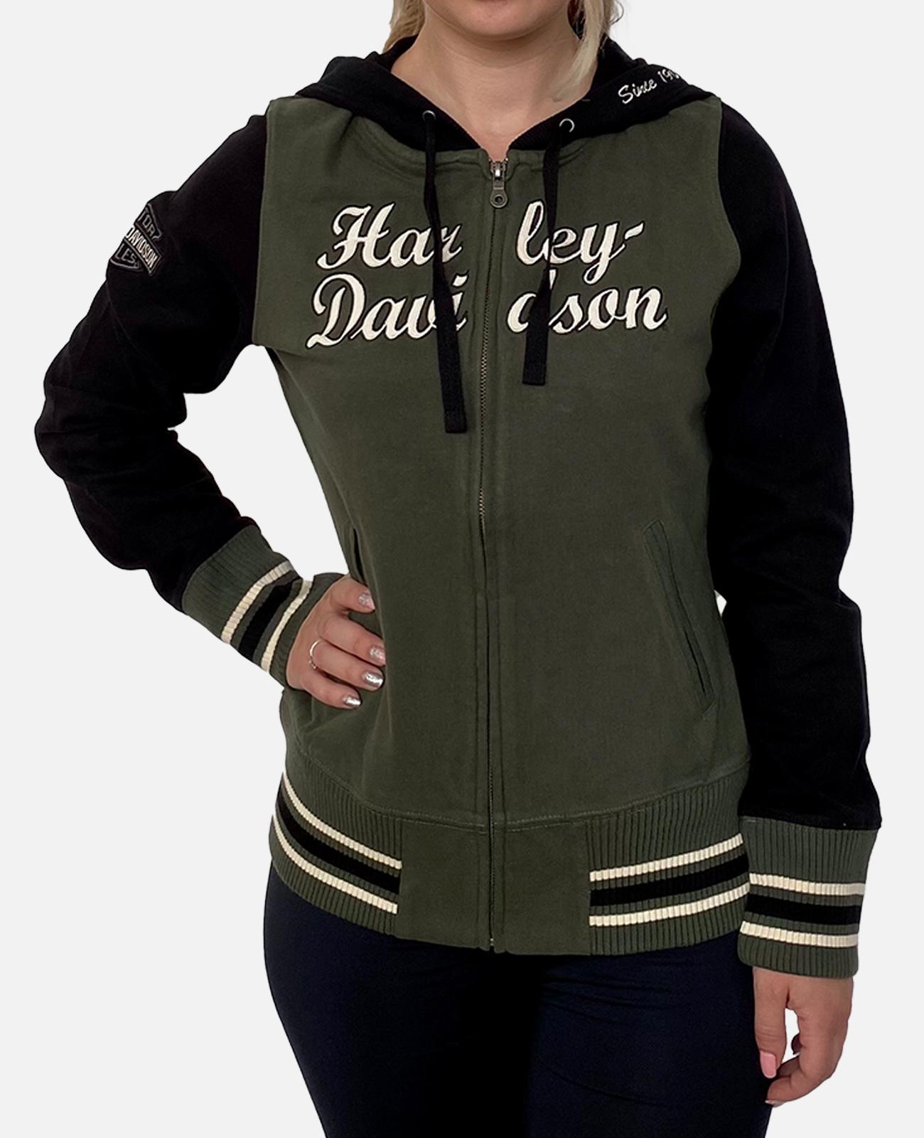 Брендовая женская толстовка Harley-Davidson
