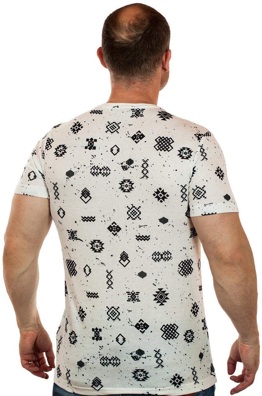 Брендовая мужская футболка-новинка от ТМ SPLASH. Твой повседневный кэжуал