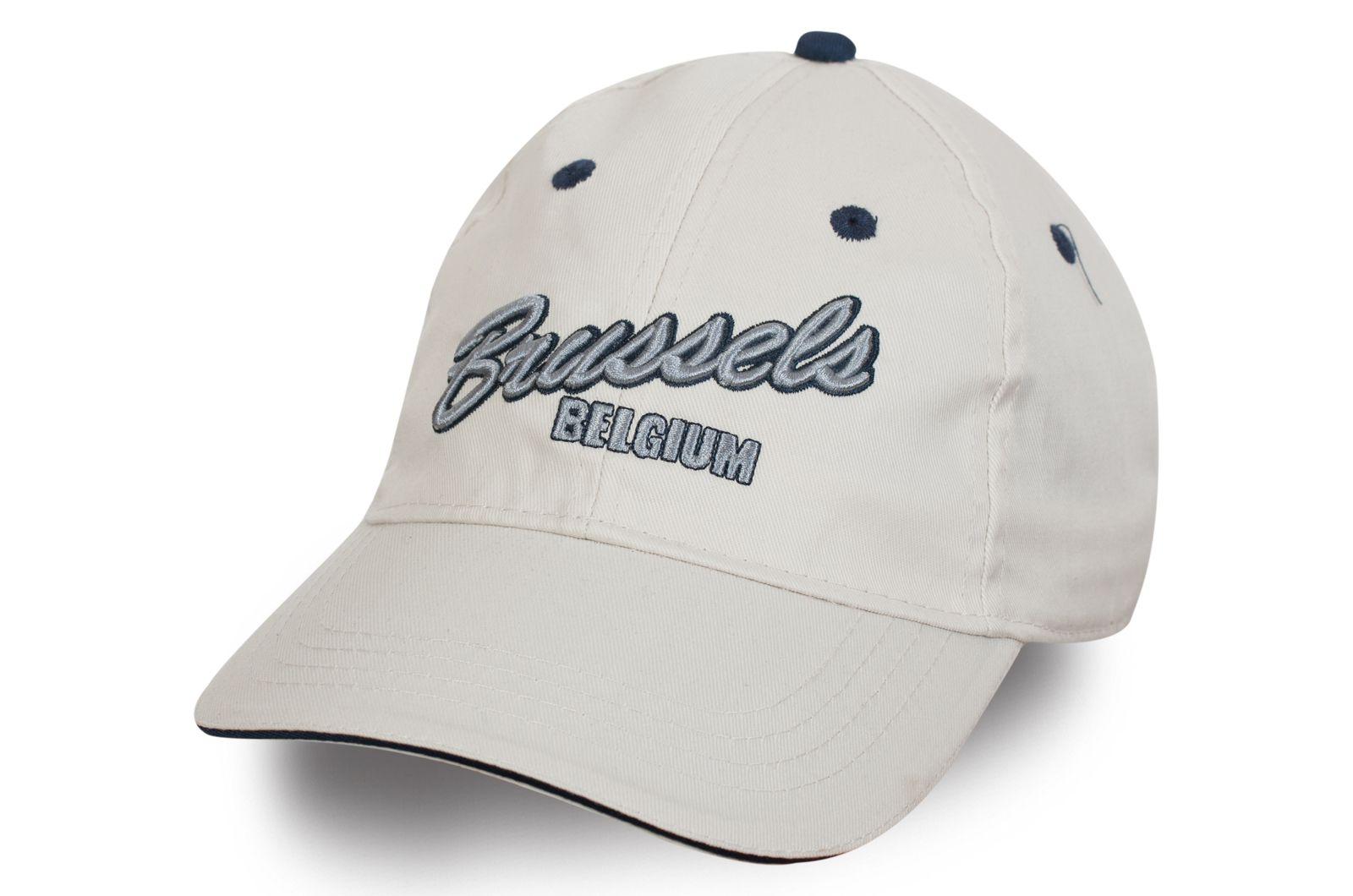 Брендовая бейсболка Brussels - купить с доставкой
