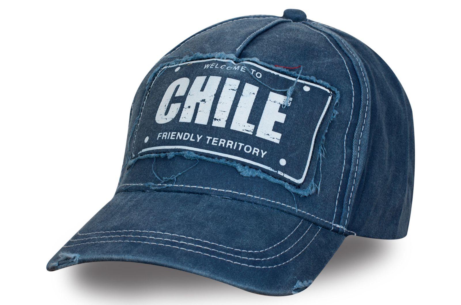 Брендовая бейсболка Чили