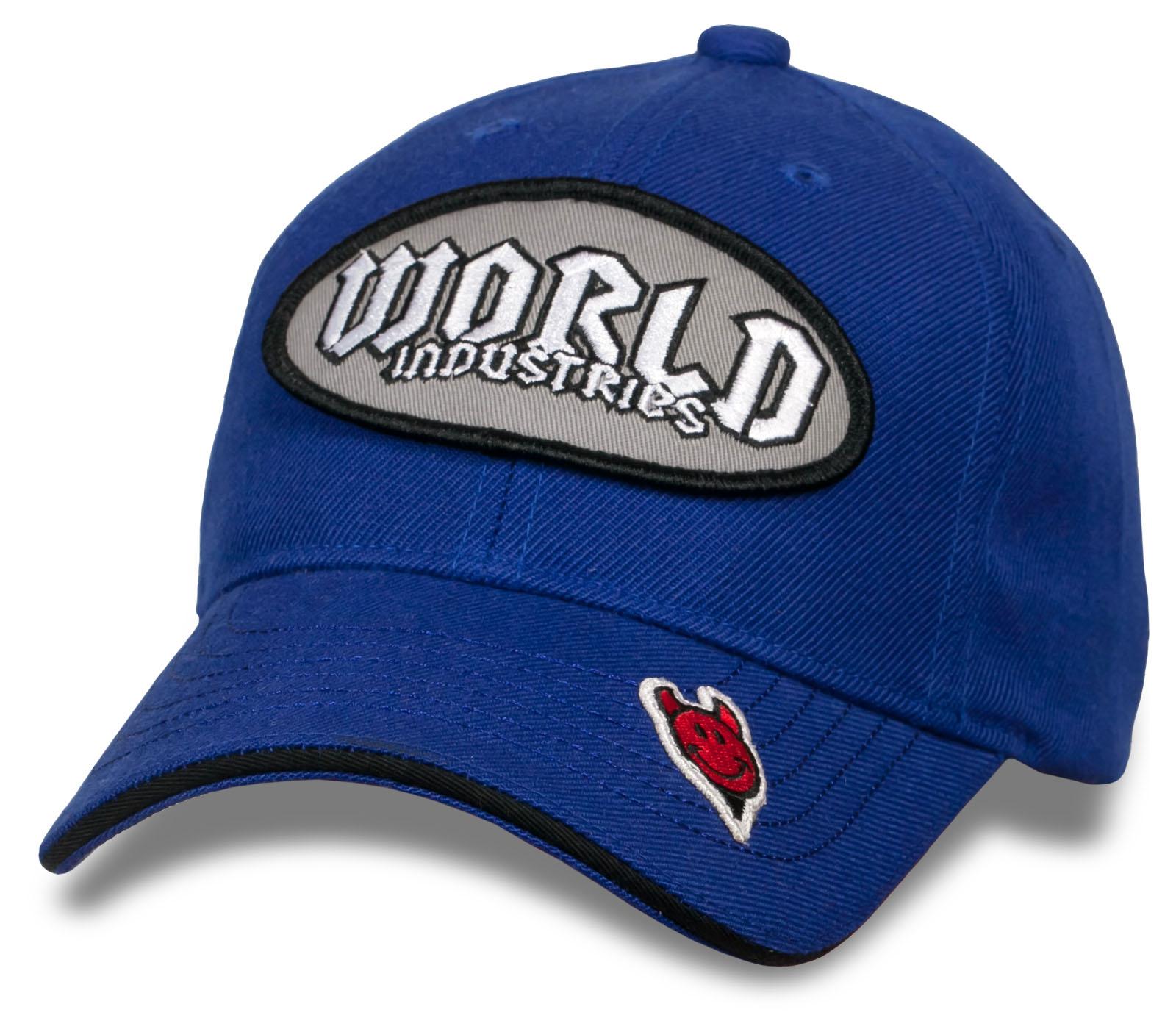 Брендовая бейсболка World industries