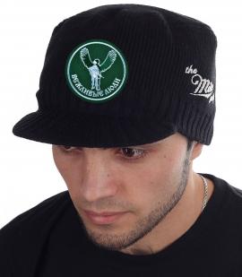 Брендовая черная шапка с козырьком Miller Way - купить в подарок