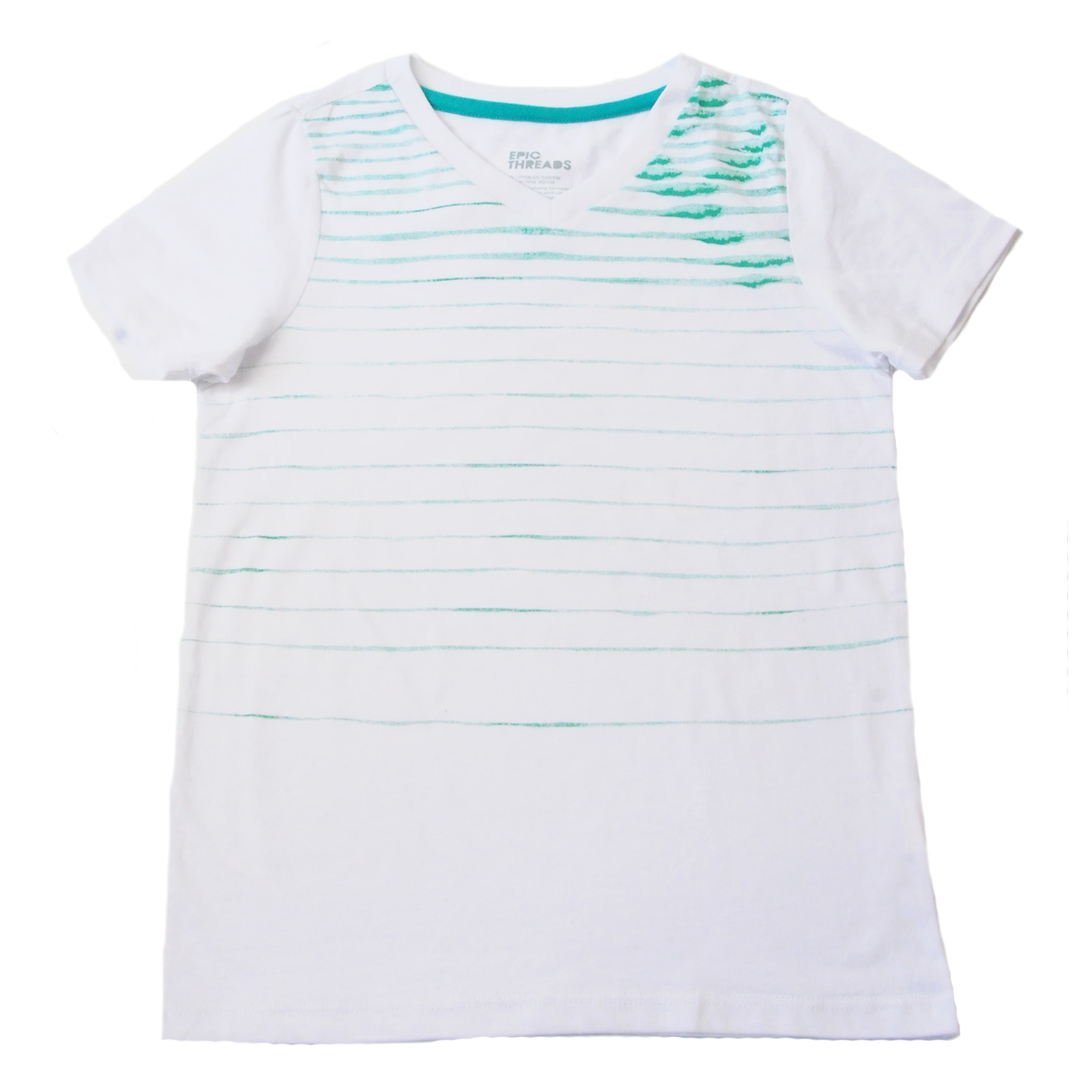 Детская футболка Epic Threads. Демисезонная модель для мальчиков и девочек. Веселенький дизайн, натуральный хлопок, приятный цвет и ГОРЯЧАЯ ЦЕНА! Успей купить, пока размеры не разобрали №Ж337