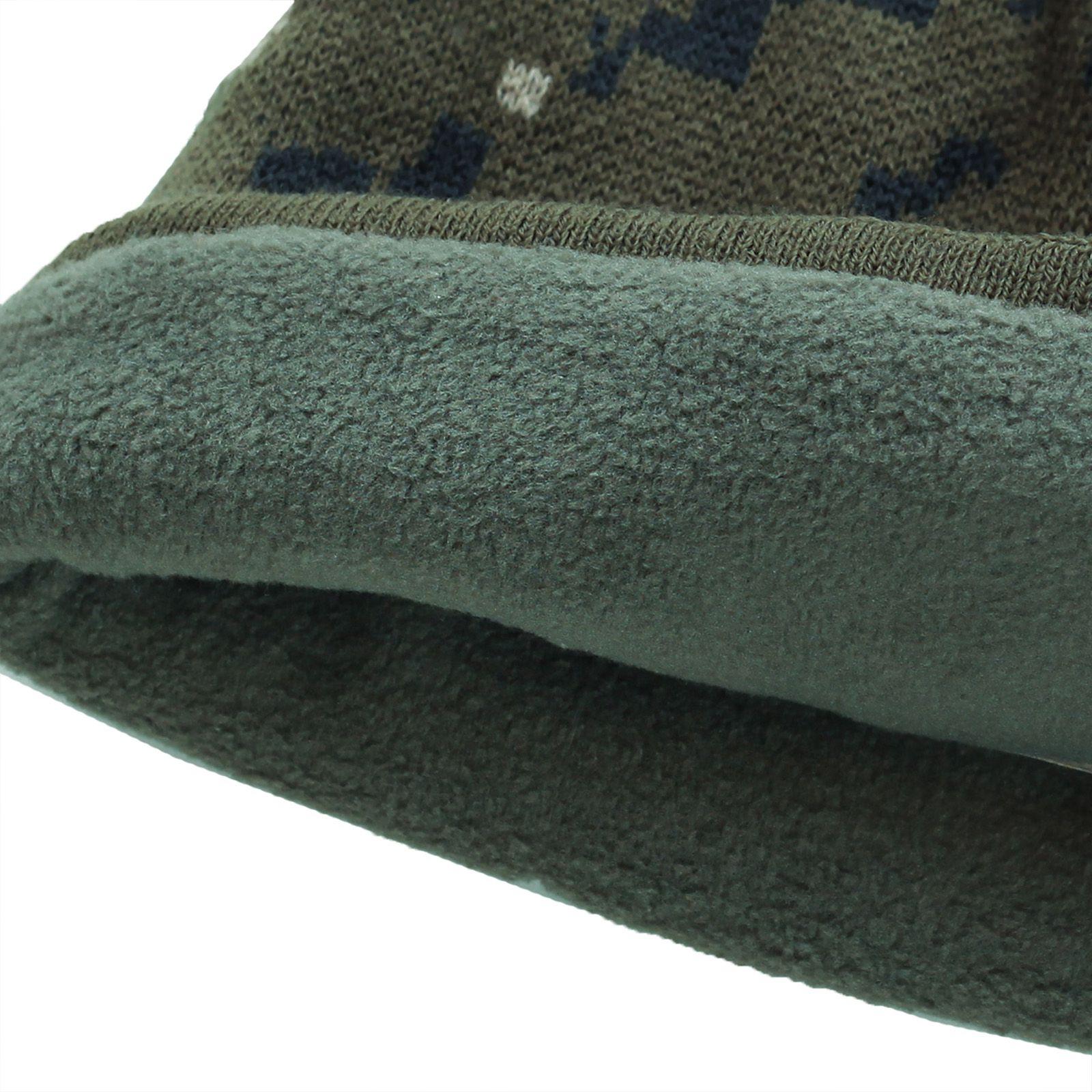 Купить брендовую флисовую шапку