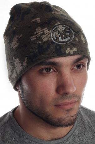 Брендовая флисовая шапка от FB Sister