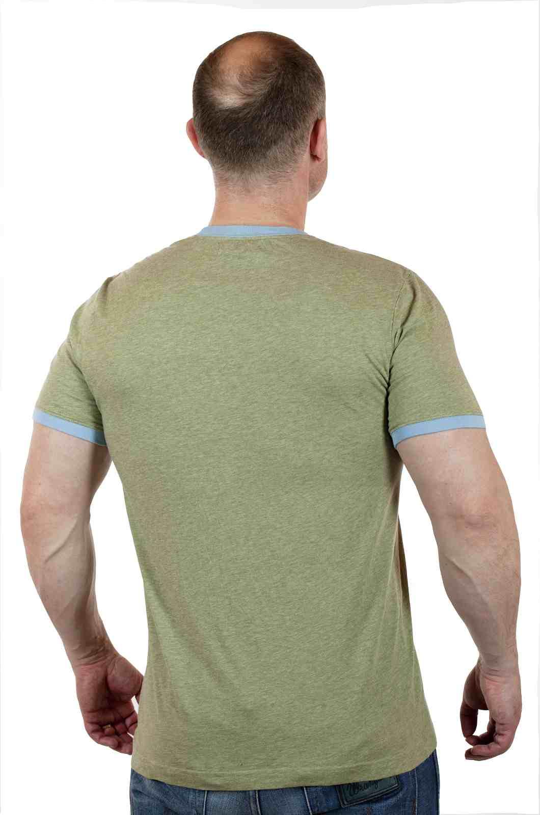 Брендовая футболка Express (США) для стильных парней-сзади