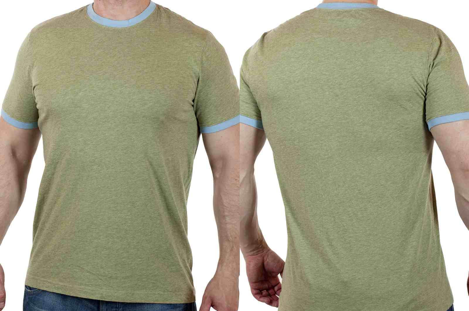 Брендовая футболка Express (США) для стильных парней-двойной ракурса